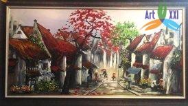 Tranh phố cổ – PC015