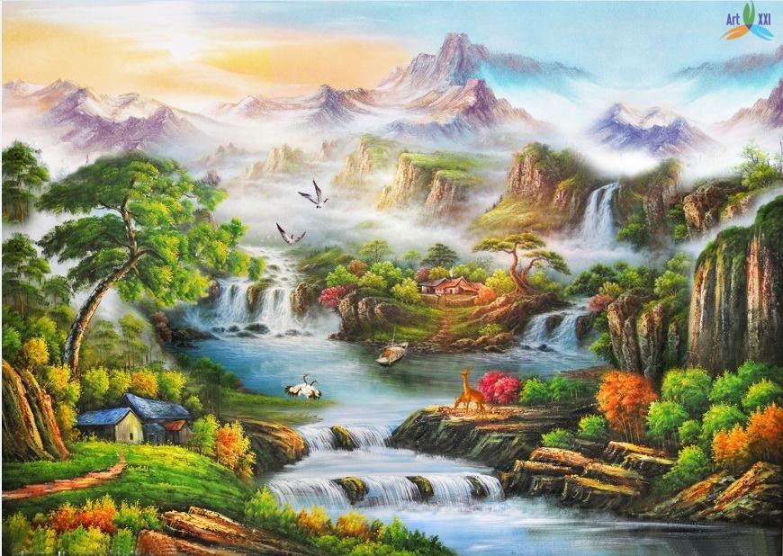 Tranh phong cảnh đẹp pc001