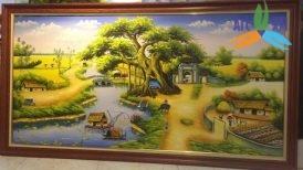 tranh phong cảnh đồng quê 05