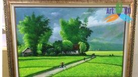 Tranh phong cảnh đồng quê 06