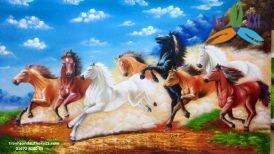 Tranh ngựa 001