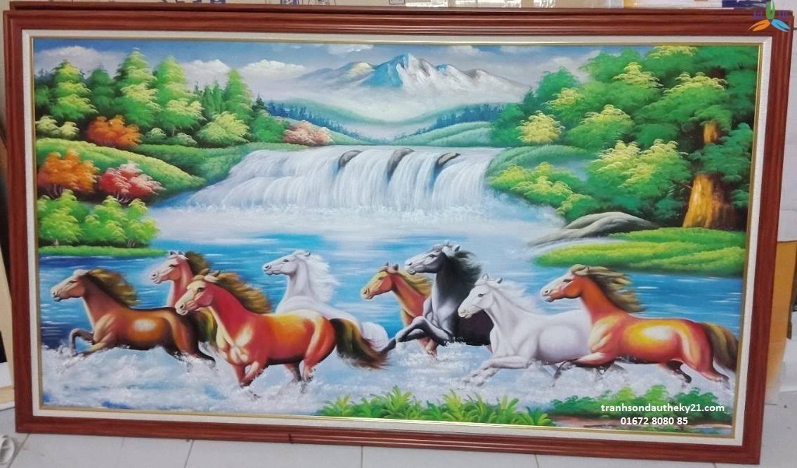 Tranh ngựa 003