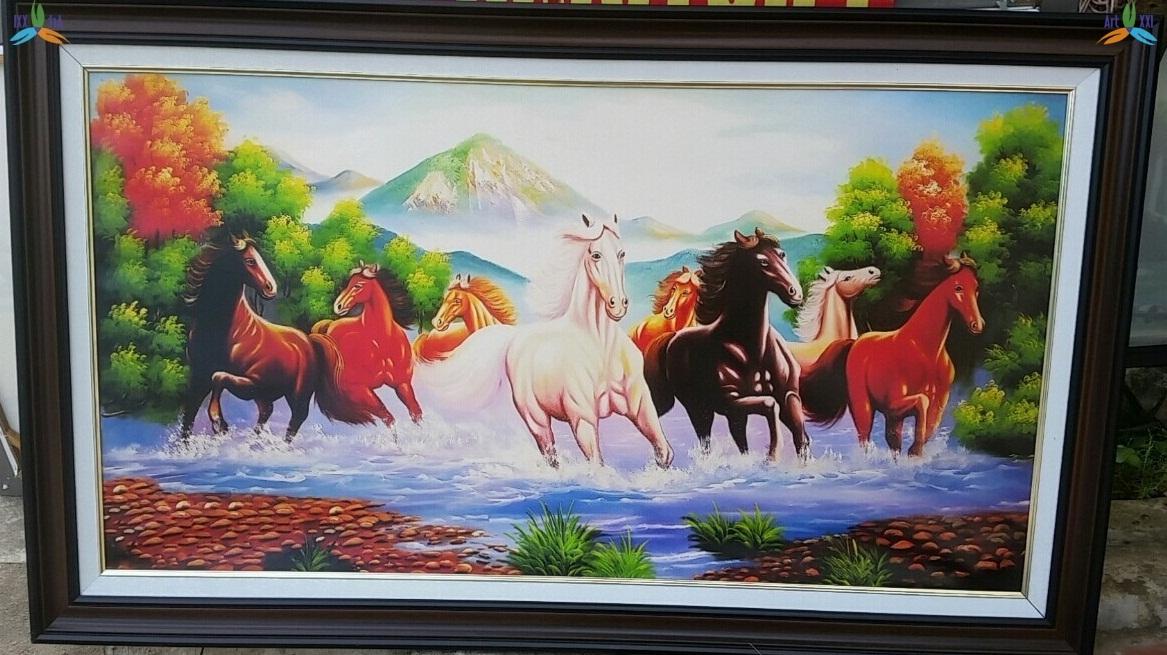 Tranh ngựa 002