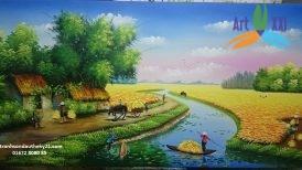 Tranh phong cảnh đồng quê 012