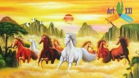 Tranh ngựa 06