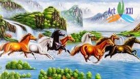 tranh ngựa 010