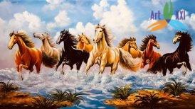 tranh ngựa 08