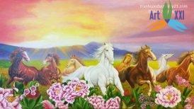 tranh ngựa 011