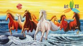 tranh ngựa 013