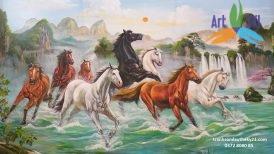 tranh ngựa 019