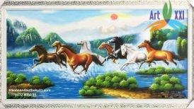 tranh ngựa 015