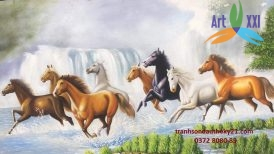 tranh ngựa 024