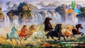tranh ngựa 021