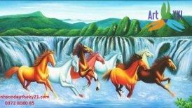 tranh ngựa 020