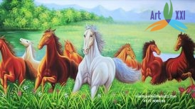 tranh ngựa 018