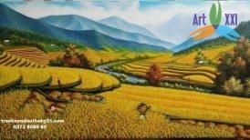 tranh phong cảnh đồng quê 036