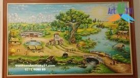 tranh phong cảnh đồng quê 038