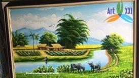 tranh phong cảnh đồng quê 029