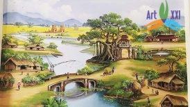 tranh phong cảnh đồng quê 040
