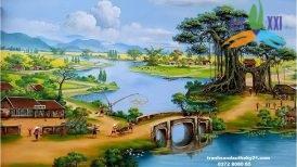 tranh phong cảnh đồng quê 041