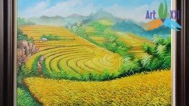 tranh phong cảnh đồng quê 042